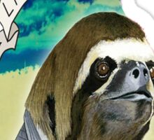 Sloth T-Shirt Sticker