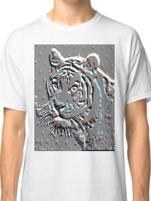 Embossed Tiger Classic T-Shirt