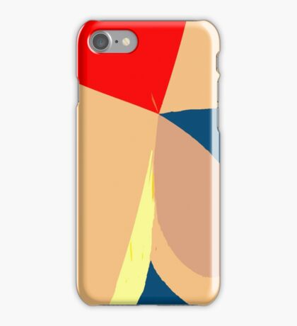 Colorful Shapes Abstract iPhone Case/Skin