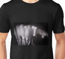 Toothbrushes in a glass Unisex T-Shirt