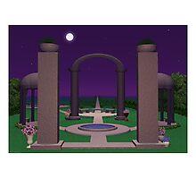 Moonlit Sanctuary Photographic Print