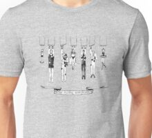The Mighty Smithtons . b&w Unisex T-Shirt