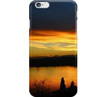Lago Varese Sunset Strip iPhone Case/Skin