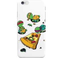 Baby Ninja Turtles T-Shirt iPhone Case/Skin