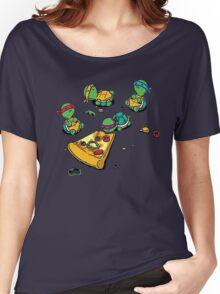 Baby Ninja Turtles T-Shirt Women's Relaxed Fit T-Shirt