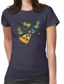 Baby Ninja Turtles T-Shirt Womens Fitted T-Shirt