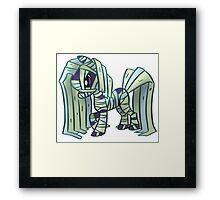 Mummy Pony Framed Print