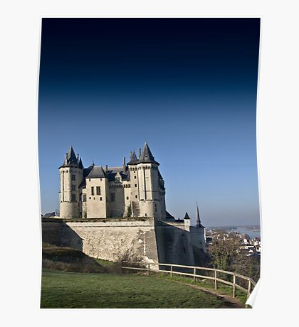 Saumur Chateau Poster