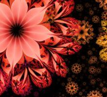 Hands Full of Flowers Sticker