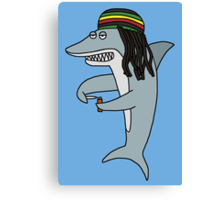 Reggae shark Canvas Print