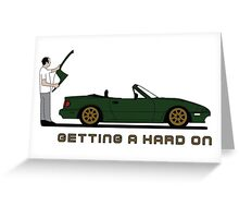 Mazda MX5 MK1 Hardtop Greeting Card