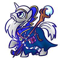 Sorcerer Pony Photographic Print
