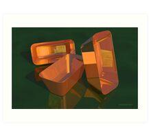 Still Life - Copper Pans Art Print