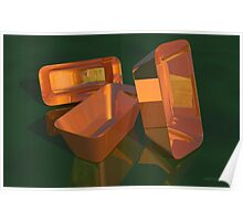 Still Life - Copper Pans Poster