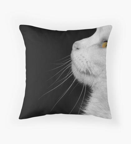 Casper In Profile Throw Pillow