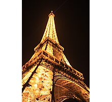 eifel tower new years day 2009 Photographic Print