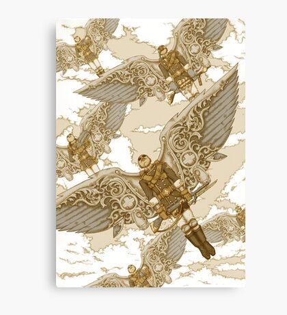 Peregrine Squadron on Maneuvers Canvas Print