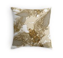 Peregrine Squadron on Maneuvers Throw Pillow