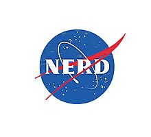Nerd - NASA Photographic Print
