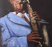 Charlie Parker by Tony Gunning