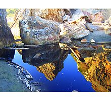 Reflection isolated Photographic Print