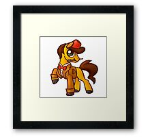 11th Dr. Whooves Framed Print