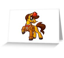 11th Dr. Whooves Greeting Card