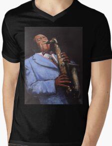 Charlie Parker Mens V-Neck T-Shirt