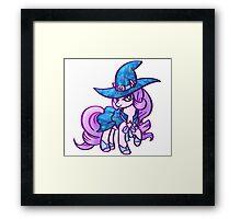 Wizard Pony Framed Print