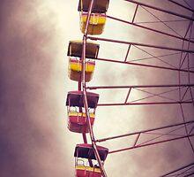 Cedar Point - Giant Wheel by SRowe Art