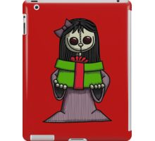 Creepy Girl with Package iPad Case/Skin