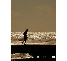 Views From The Beach : The Runner Photographic Print