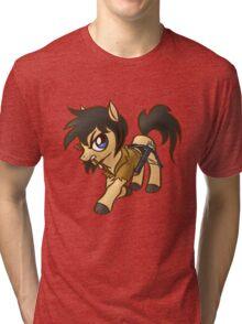Walking Dead Pony Fighter Tri-blend T-Shirt