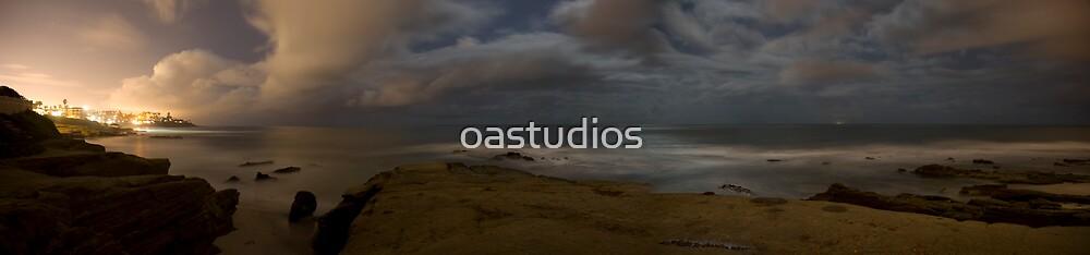 Windansea Panorama 3 by oastudios