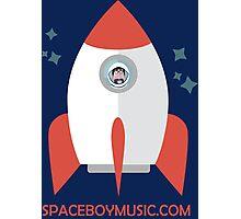 Spaceboy's Rocket Photographic Print