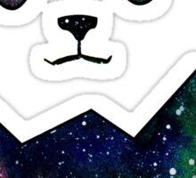 Pandas, We Have Space Sticker
