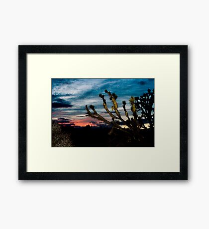 Wee Thump Sunset Framed Print