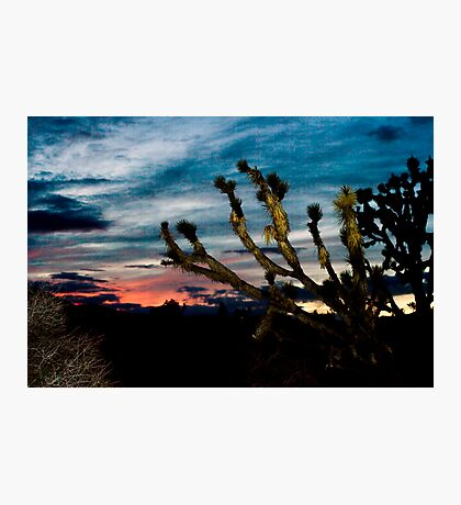 Wee Thump Sunset Photographic Print