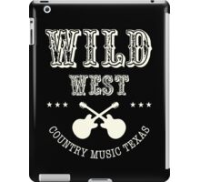 Wild West Country music  iPad Case/Skin