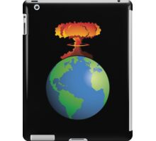 Nuclear explosion on Earth iPad Case/Skin