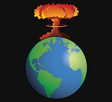 Nuclear explosion on Earth Unisex T-Shirt
