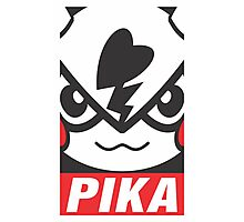 PIKA -OBEY- Photographic Print