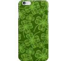 Clover pattern iPhone Case/Skin