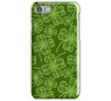 Clover pattern iPhone Case/Skin