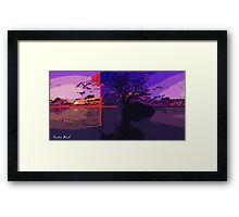 Picture 2015069 Justin Beck 4points Sunset Framed Print