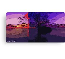 Picture 2015069 Justin Beck 4points Sunset Canvas Print