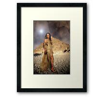 Egyptian Queen Framed Print