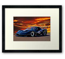 2010 Chevrolet Corvette GT1 Framed Print