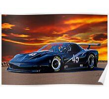 2010 Chevrolet Corvette GT1 Poster