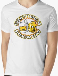 Everything Is Shmowzow ! Mens V-Neck T-Shirt
